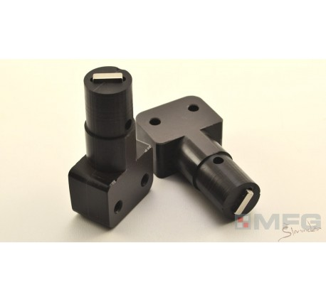 Brake axis shaft SET - graphite