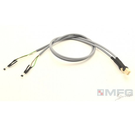Set of brake axis cables (2x) for V1 pedals - preassembled